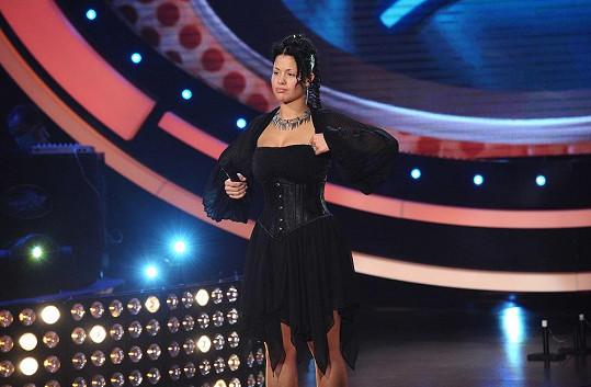 Virginie Buberníková zazpívala falešně, ale porotce překvapila účesem.