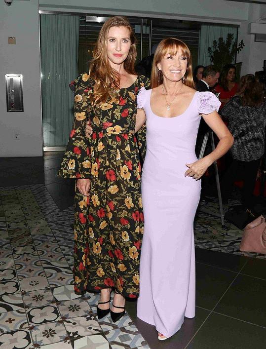 Jane s dcerou Katherine, která se také věnuje herectví.