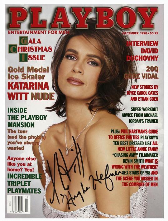 Vydání Playboye s obnaženou krasobruslařskou legendou se vyprodalo během několika dnů.