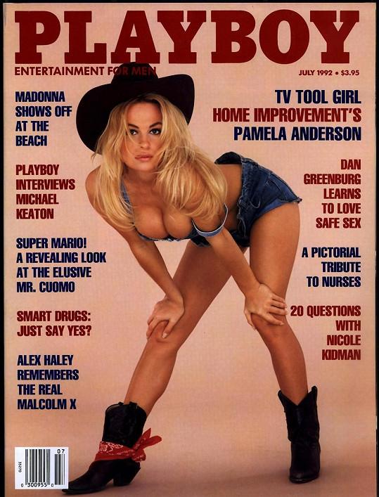 Pamela Anderson byla na titulce Playboye hned několikrát.