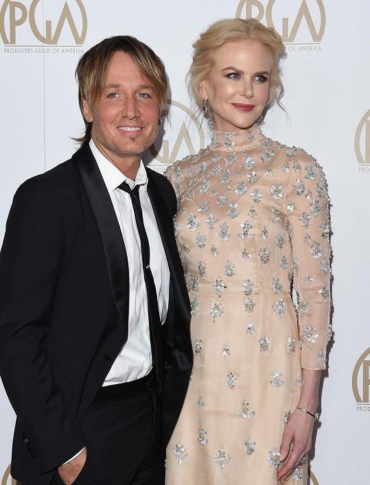 Nicole s manželem Keithem Urbanem