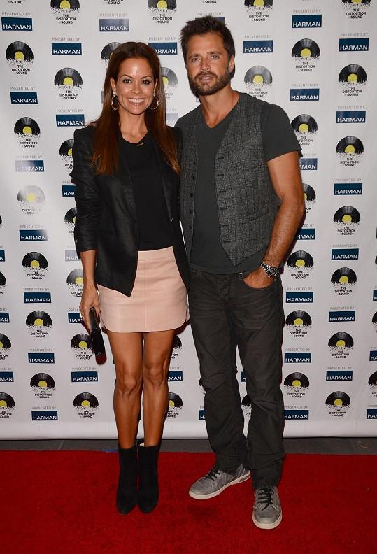 Herecký manželský pár Brooke Burke a David Charvet