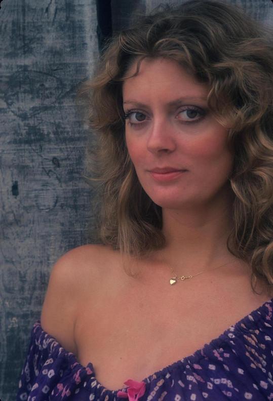 Susan Sarandon na snímku z roku 1974
