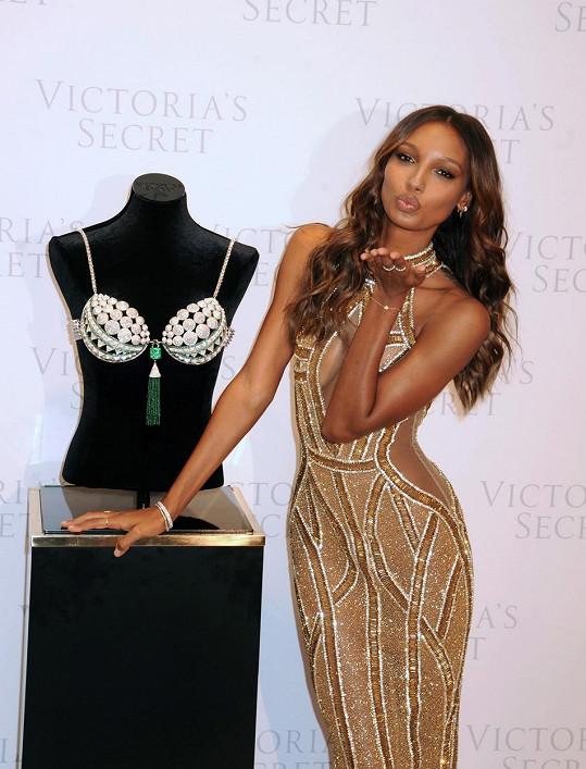 Modelka předvede tento luxusní kousek na letošní přehlídce Victoria's Secret.