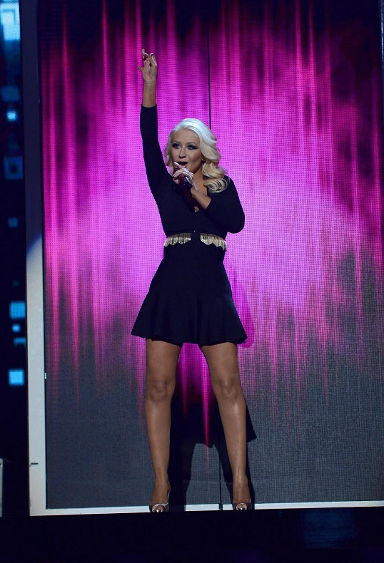 Christina Aguilera Weight Loss Billboard
