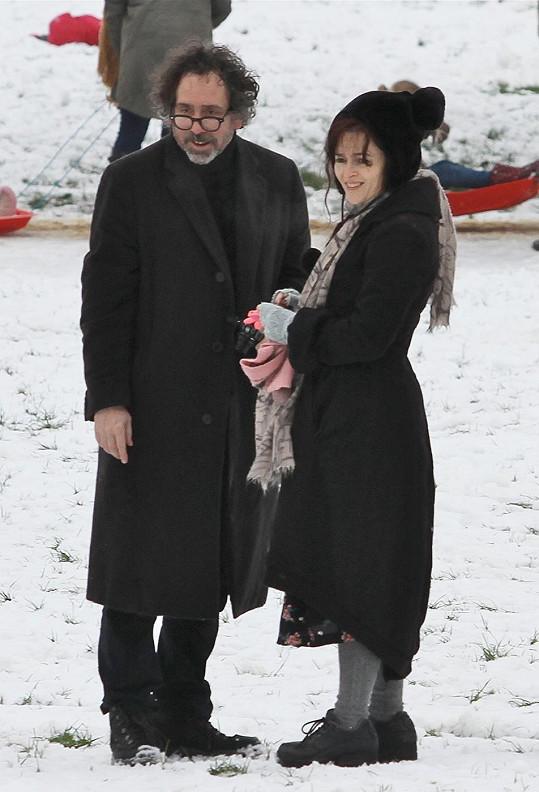 Tim Burton s Helenou Bonham Carter