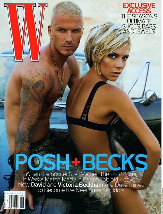 Poté s Victorií nafotili sexy snímky pro W Magazine.