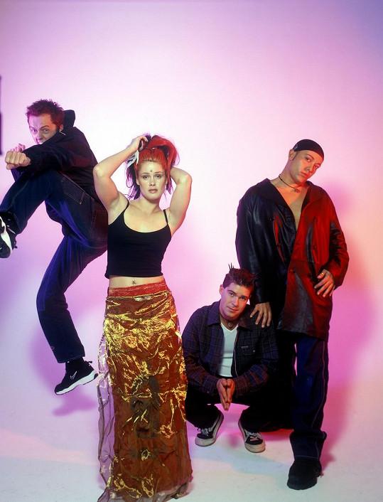 Skupina Aqua se proslavila v 90. letech.