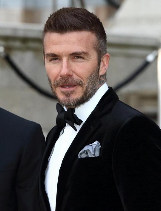 """Tvář Davida Beckhama je dokonalá prý na """"pouhých"""" 88,96 %."""