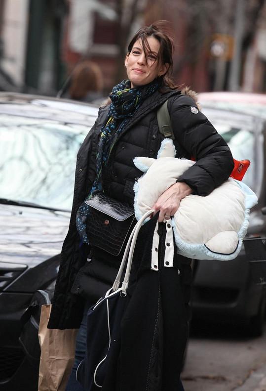 Liv Tyler vypadá senzačně, i když není nalíčená.