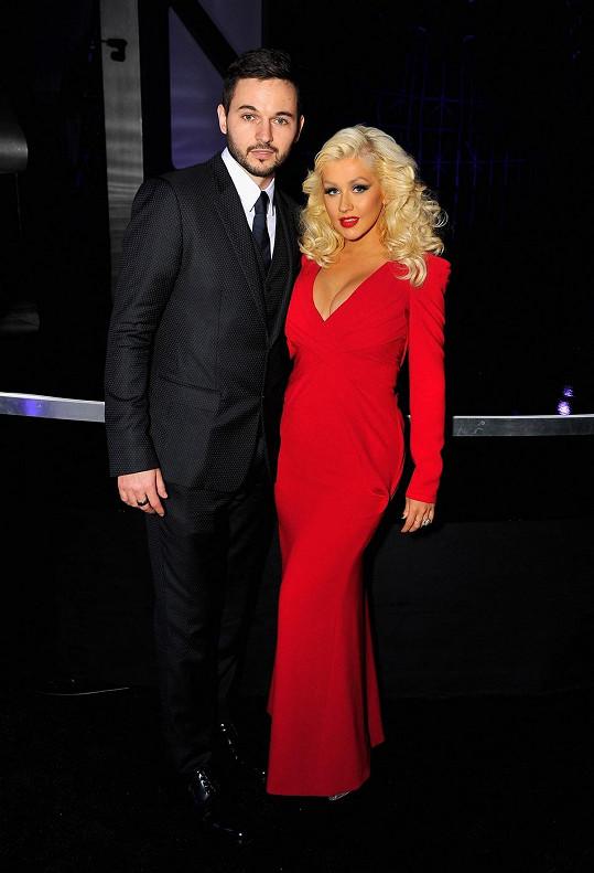 Christina Aguilera s Matthewem Rutlerem