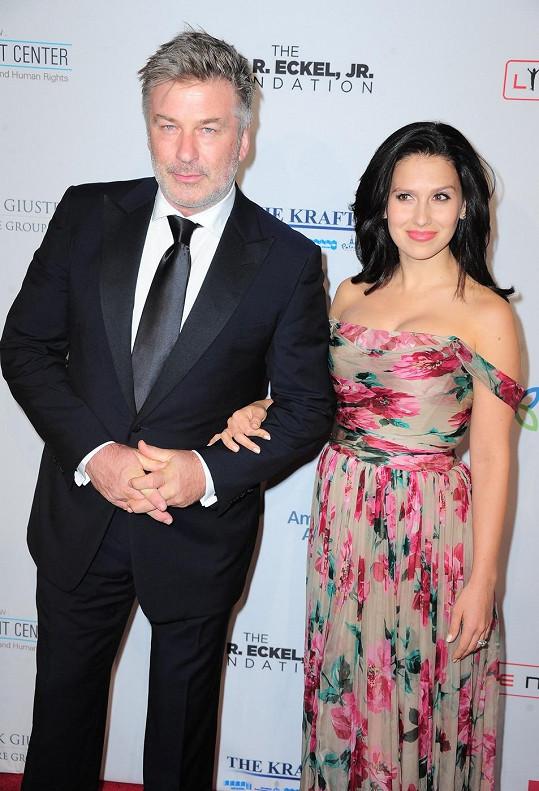 Alec Baldwin s krásnou manželkou Hilarií
