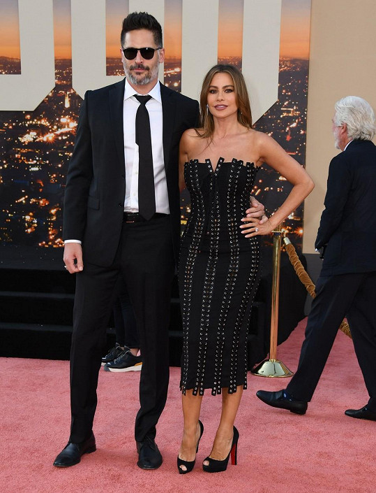 S manželem Joem Manganiellem
