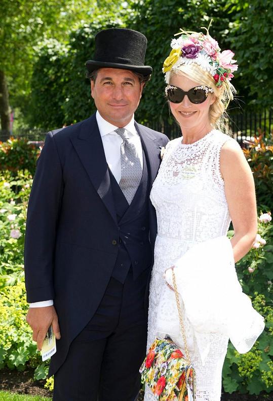 Tamara s manželem Giorgiem čekají již druhého potomka.