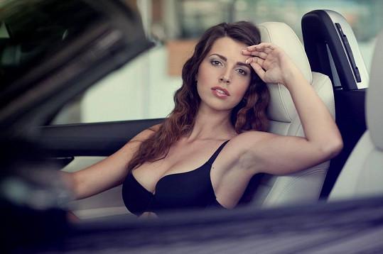 První vítězka Czech Driver Girl Lenka Nováková