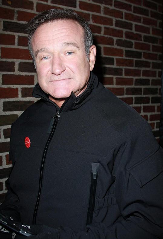 Stavy úzkosti přerostly přes hlavu Robinu Williamsovi.