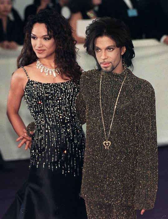 Prince s bývalou manželkou Mayte Garciou