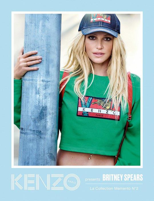 Britney Spears v nové kampani značky Kenzo