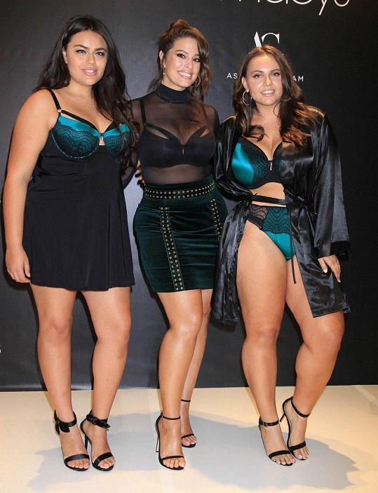 V Las Vegas podpořila modelky se stejnými tělesnými parametry.