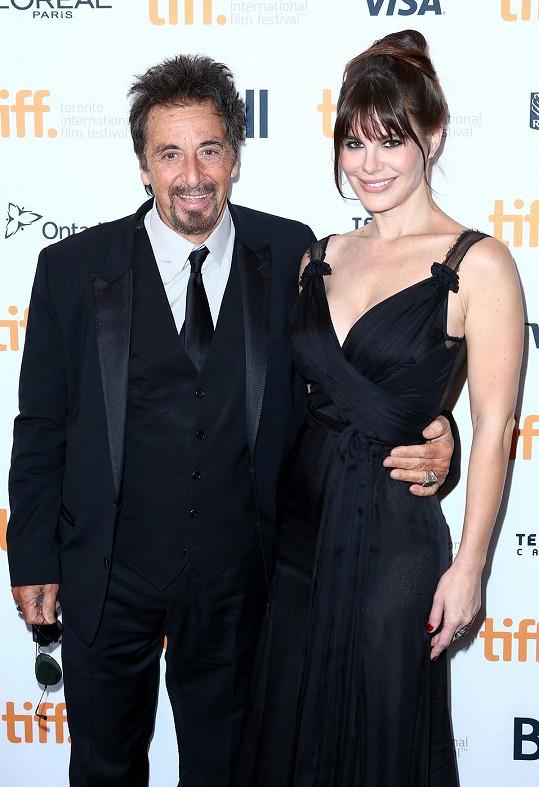 Al Pacino a Lucila Solá randí už pátým rokem.