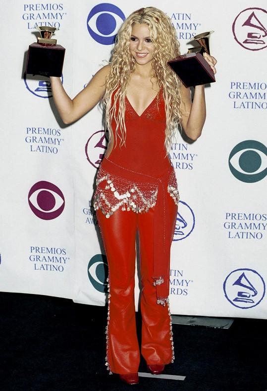 Zpěvačka v roce 2000 na předávání Latino Grammy