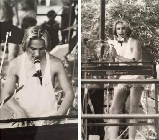 Roman Vojtek na snímku z roku 1990