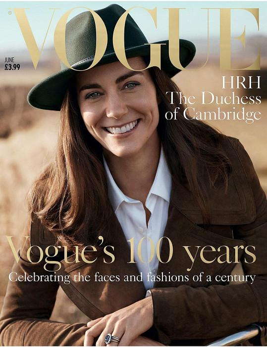 Kate se letos objevila i na své první obálce Vogue.