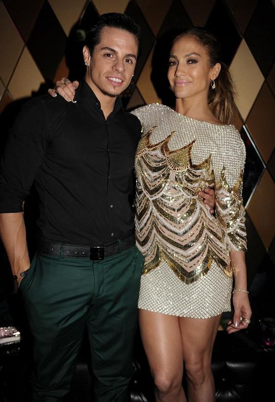 Jennifer Lopez a Casper Smart