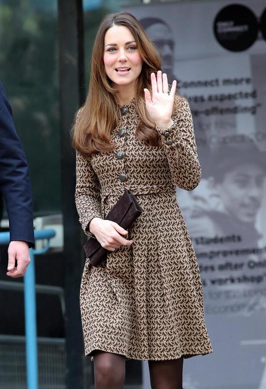 Vévodkyně v listopadu 2013