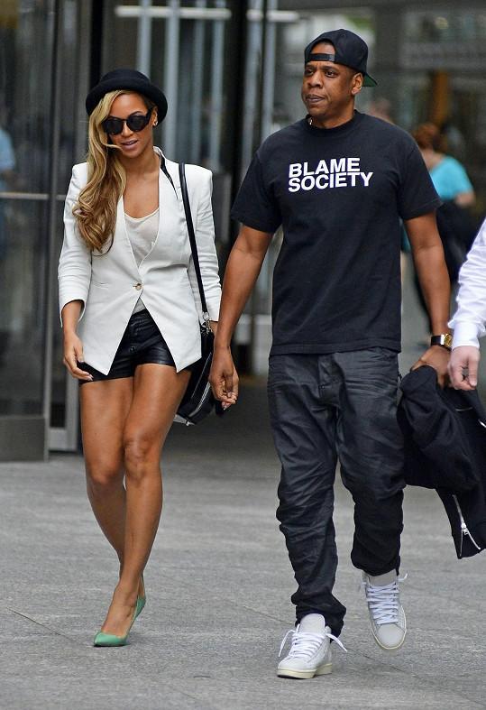 Beyoncé a Jay-Z o víkendu v New Yorku