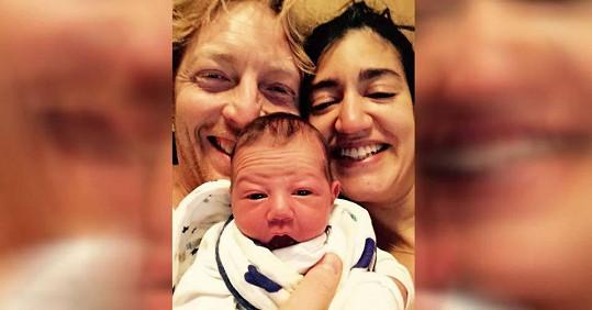 Karel Janeček s manželkou a synem. Z jednoho z dřívějších vztahů má Janeček také dvě dcery.