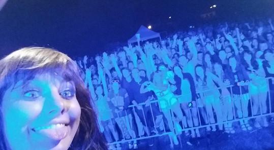 Ewa Farna a její rozverná selfie