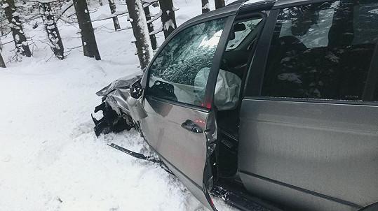 Takto dopadlo jeho auto.