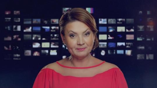 Jolana Voldánová se opět objevila ve zpravodajském studiu.