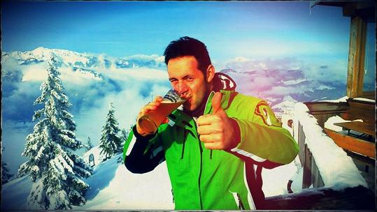 Na horách chutná pivo nejlépe.