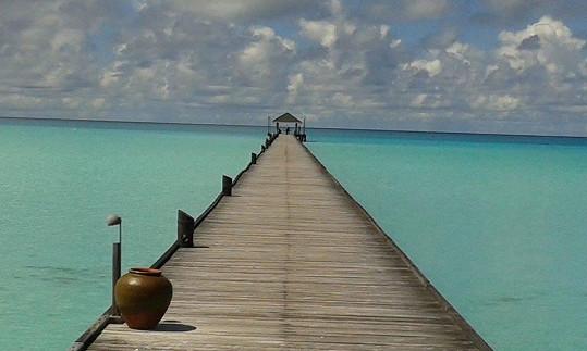 Maledivy jsou oživlý kýč.