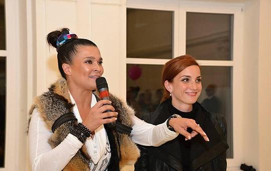 Nechyběla milovnice tance Mahulena Bočanová, která poprvé tancovala ve svých devíti letech v baletním souboru.