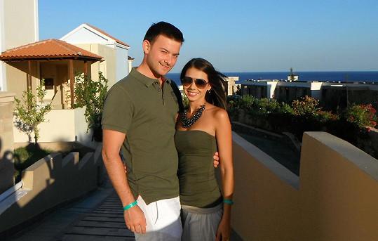Petra Pudová se zasnoubila s přítelem Markem.