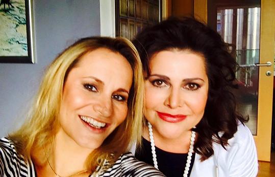 Monika Absolonová a Ilona Csáková se přátelí už delší dobu.