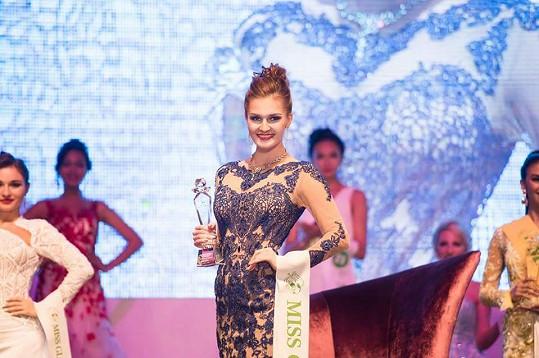 Michaela Haladová se v soutěži krásy neztratila.