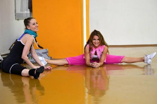 Yvetta Blanarovičová trénuje.