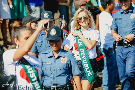 Na Filipínách se jí líbilo.