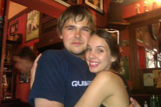 S kamarádkou Míšou Tomešovou v přechodové fázi