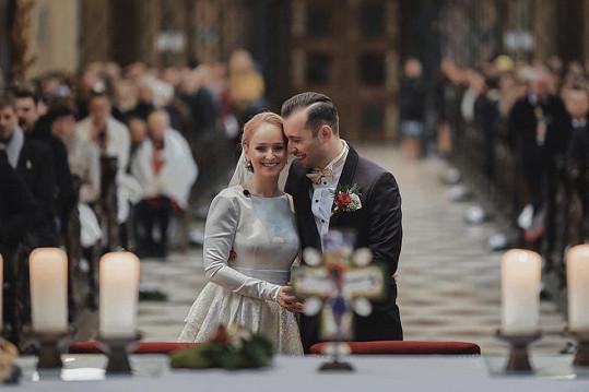 Tereza Vágnerová se na konci loňského roku vdávala.
