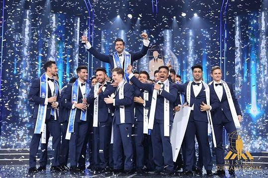 Reprezentoval nás na mezinárodní soutěži Mister Supranational, kde obsadil krásné čtvrté místo.