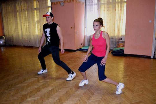 Yvetta Blanarovičová na tréninku street dance málem vypustila duši.