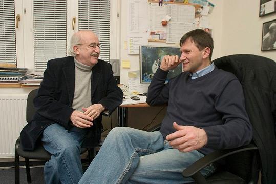 Jan Hrušínský se znal s Jurajem Herzem mnoho let.