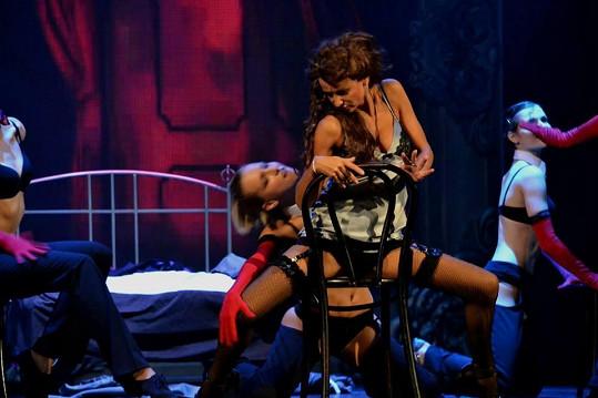 Taneční čísla nebudou postrádat erotický náboj.