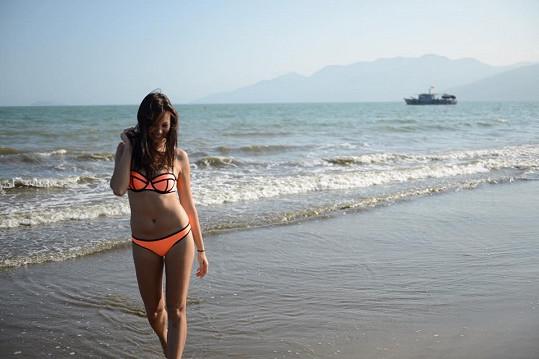 Monika Leová ve Vietnamu
