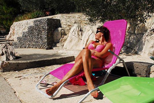Andrea Kalivodová má ráda růžovou barvu a je to vidět.